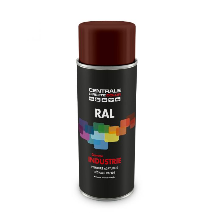 Peinture en spray RAL 8012 Brun rouge Brillant CDCRAL8012B