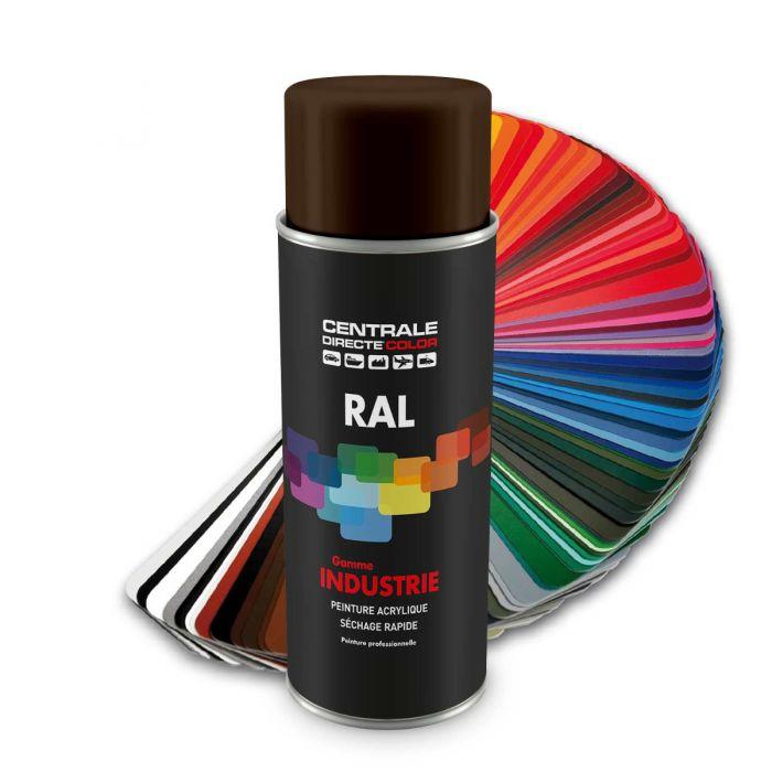 Peinture en spray RAL 8014 Brun sépia Brillant CDCRAL8014B