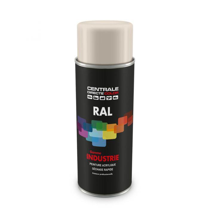 Peinture en spray RAL 9001 Blanc crème Brillant CDCRAL9001B