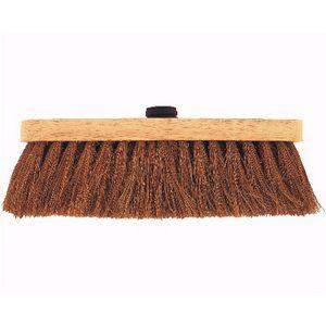 Balai coco monture bois embout standard - longueur 30cm BSC30