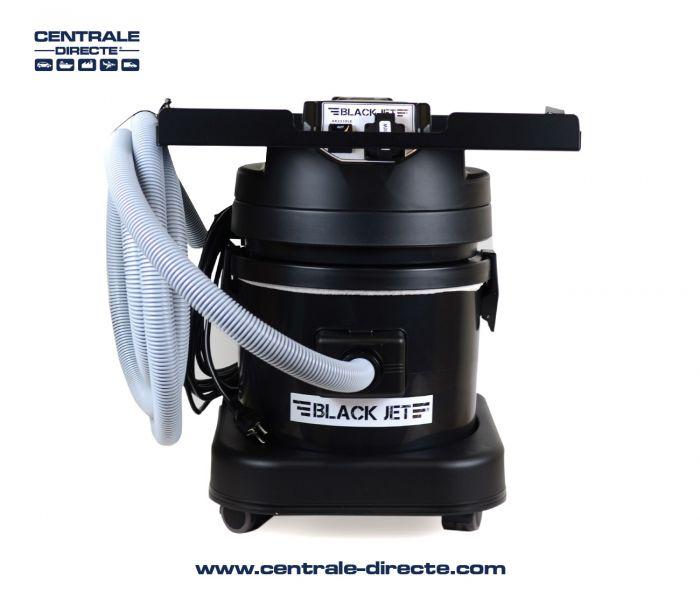 Centrale aspirante Black Jet pour machines électriques + tuyau 4m AK2310LE