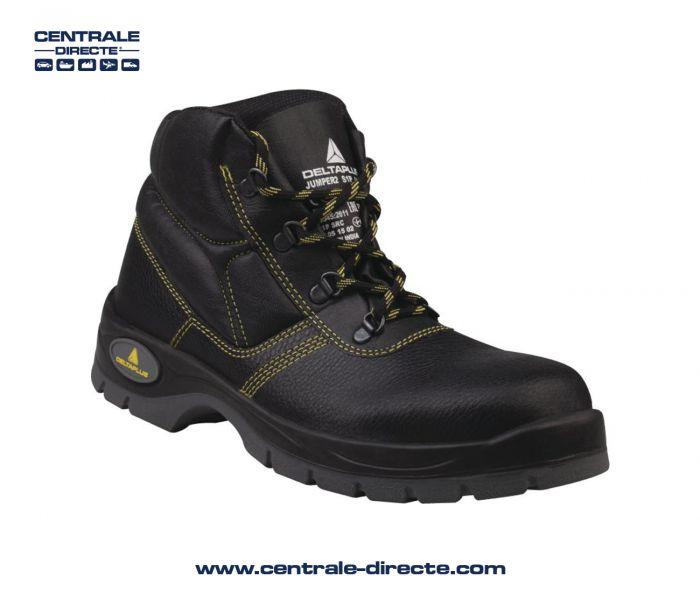 Chaussure haute de sécurité JUMPER - noir VTJU