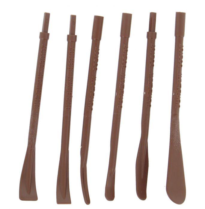 Jeu de 6 spatules pour joint et mastic CM60