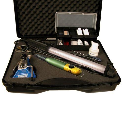 Mallette de réparation de pare-brise pro. complète PBO600