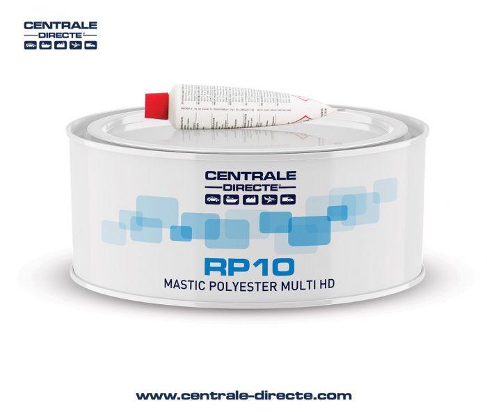 Mastic carrosserie polyester léger haute finition - Boîte 1L RP10