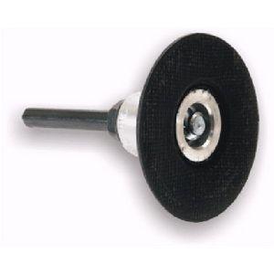 Plateau caoutchouc support mini disque speed-lok vis plastique - Ø 75mm SK76