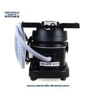 Centrale aspirante Black Jet pour machines électriques + tuyau 4m