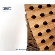 Filtre extraction carton plissé