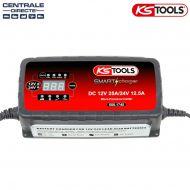 Chargeur de batterie VL - PL 12/24V 25A/12,5A - KS Tools