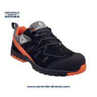 Chaussure de sécurité BROOKLYN - noir/orange