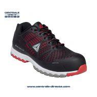 Chaussure basse de sécurité DELTA SPORT - noir/rouge