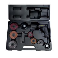 Coffret disqueuse meuleuse pneumatique composite ø50 et 75mm