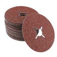Disque abrasif sur fibre grain 80 Céramique diamètre 125mm - x25