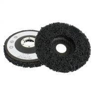 Roue de décapage fibre sur support 115 x 22mm