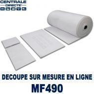 Pré-filtre pour cabine peinture à la découpe 300 g/m² - G4
