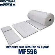 Filtre plenum pour cabine peinture à la découpe 300 g/m² - M5