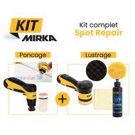 Kit ponçage et lustrage Spot Repair sur batterie Mirka