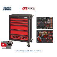 Servante d'atelier KS TOOLS - Racing - 6 Tiroirs avec 184 outils