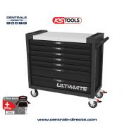 Servante d'atelier KS TOOLS - ULTIMATE XL - 7 Tiroirs