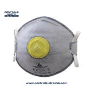 Masque anti-poussière et odeurs à valve expiratoire FFP2 - x10