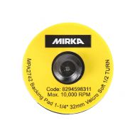 Plateau quick lock 32mm Grip souple Mirka -x10
