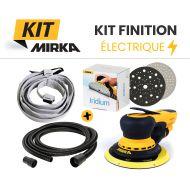 Kit finition électrique Mirka - ponceuse et consommables