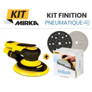 Kit finition pneumatique Mirka - ponceuse et consommables