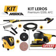 Pack ponceuse Mirka Leros Premium 1230 L AFC