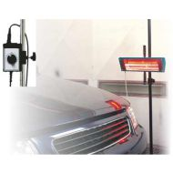 Sécheur infrarouge 1kw ondes courtes 1 lampe et minuterie