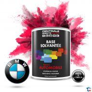 Peinture BMW base mate solvantée à vernir