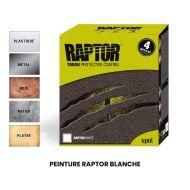 Peinture Raptor Blanche - 3.8 litres + durcisseur