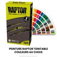 Peinture Raptor texturée  TEINTABLE - Couleur au choix