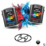 Peinture Hyundai base mate à vernir
