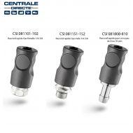Raccord rapide de sécurité ISO C passage de 8mm