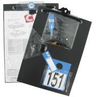 Pochette noire porte document pour réception de véhicule 235x340mm