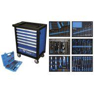 Servante d'atelier Brilliant Tools - 7 Tiroirs avec 473 outils