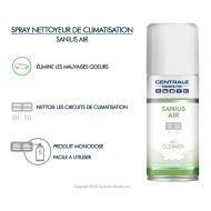 Aérosol nettoyeur de climatisation 100ml - Sanius Air