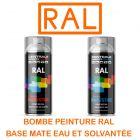 Bombe de peinture Ral base à vernir - Eau ou Solvantée CDCSMAS-CP