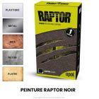 Peinture Raptor NOIR 0.95 litre ou 3.8 litres + durcisseur RLB-S4-1