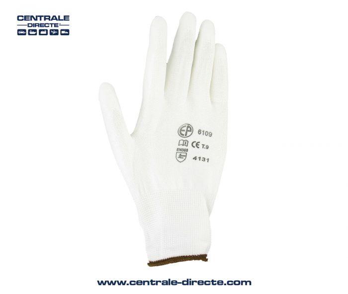 Taille 10//XL Delta Plus ATHOS VV902 Polyester Gants de travail jaune Gris Construction