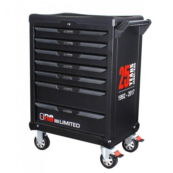 e2ecf3f476af1 Servante d'atelier complète KS Tools - 7 tiroirs contenant 366 outils