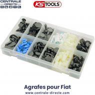 Assortiment d'agrafes pour Fiat - Ks Tools