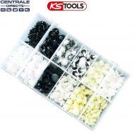 Assortiment d'agrafes pour Peugeot et Citroen - Ks Tools