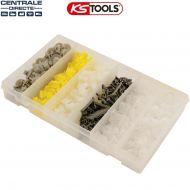 Assortiment d'agrafes pour Renault - Ks Tools