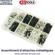 Assortiment d'attaches métalliques - Ks Tools
