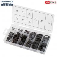Assortiment de 300 circlips type E - KS TOOLS