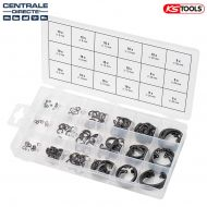Assortiment de 180 circlips type interne KS TOOLS