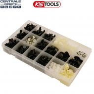 Assortiment d'agrafes pour Honda - KS Tools