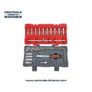 Boite/kit de 39 douilles ks tools