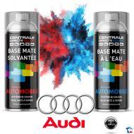 Bombe de peinture Audi base à vernir